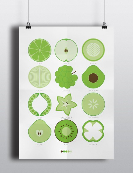 Poster_fruit_green