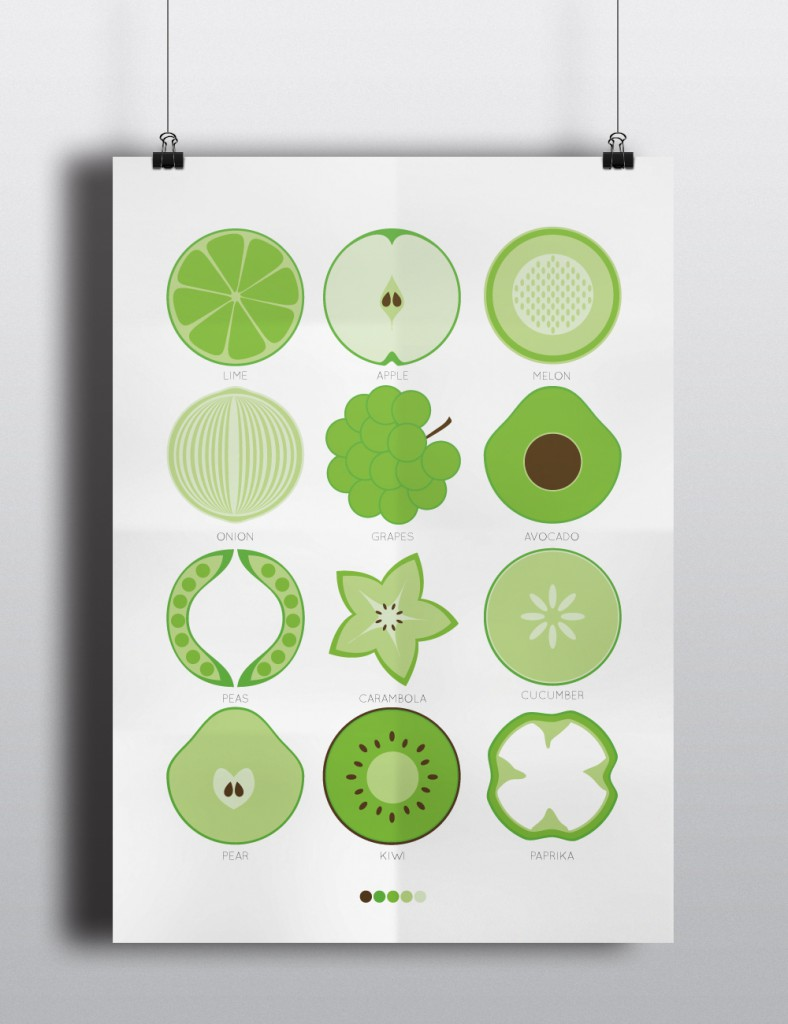 Poster_fruit_green